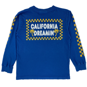 Tiny Whales - California Dreaming Long Sleeve Tee - Royal