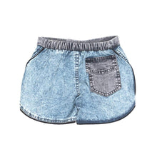 Load image into Gallery viewer, Children of the Tribe - Chambray Acid Shorts