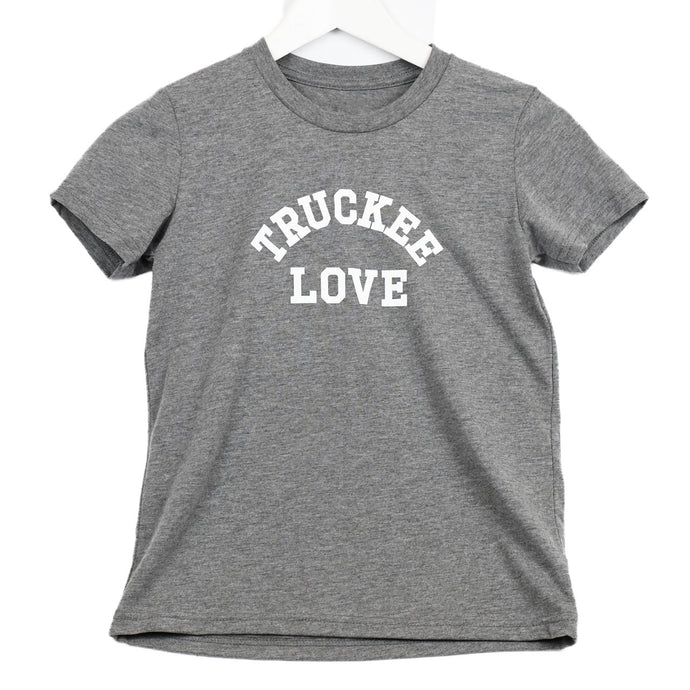 Truckee Love T-Shirt - Charcoal