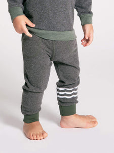 Waves Hacci Jogger Infant Military Sol Angeles
