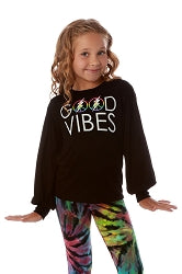 Good Vibes Only Long Sleeve Top
