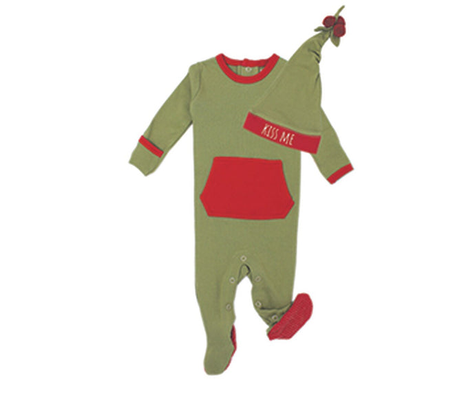 L'ovedbaby Organic Holiday Overall