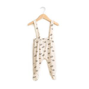 Haven kids Bamboo Footie Suspender Pants - Sprigs
