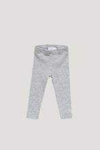 Load image into Gallery viewer, Organic Cotton Modal Legging - Light Grey Marle