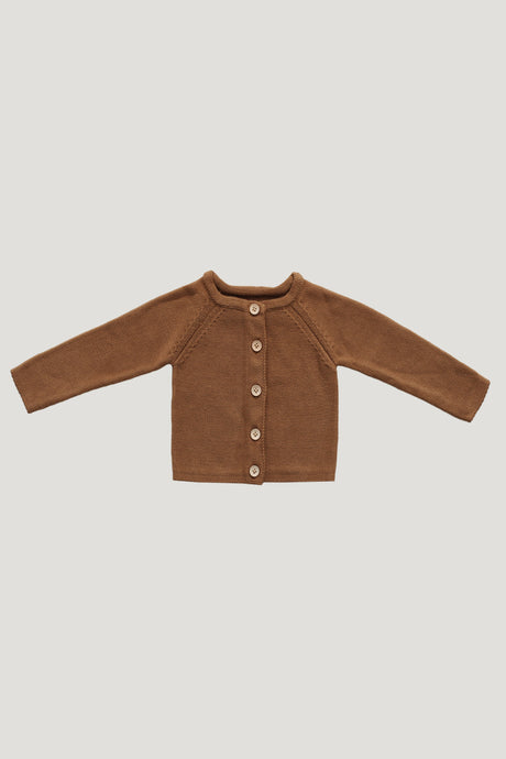 Jamie Kay Simple Cardigan Infant - Camel