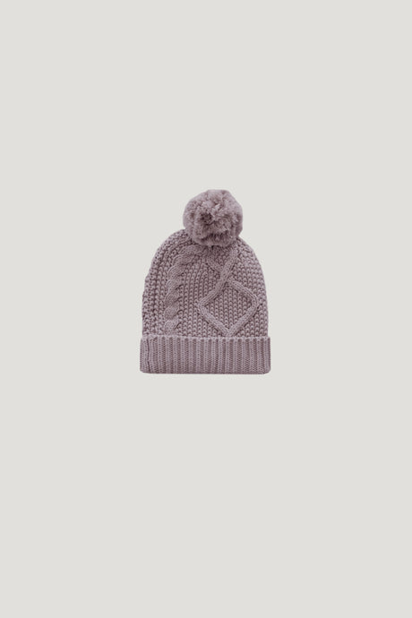 Jamie Kay Cable Knit Hat - Fawn