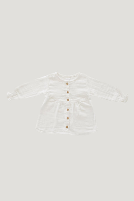Jamie Kay Organic Cotton Muslin Lila Blouse Infant