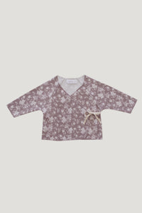 Jamie Kay Organic Cotton Wrap Top - Fawn Floral