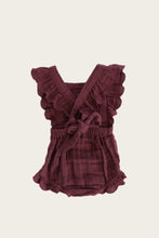 Load image into Gallery viewer, Jamie Kay - Organic Macy Playsuit - Grape
