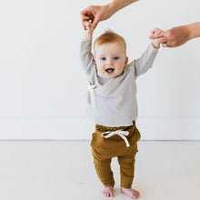 Load image into Gallery viewer, Kidwild Organics Organic Drawstring Pants - Curry