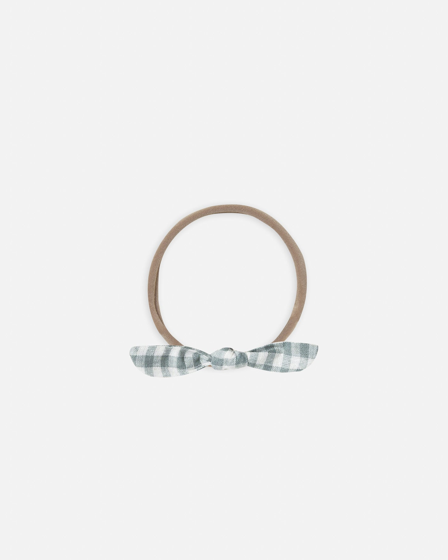 Rylee + Cru Little Knot Headband - Gingham