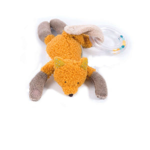 Moulin Roty Chausette the Fox Bead Rattle