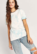 Load image into Gallery viewer, Tie Dye Weekend Tee - Maliblue Bubble TD