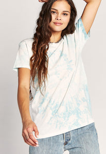 Tie Dye Weekend Tee - Maliblue Bubble TD