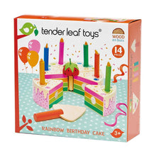Load image into Gallery viewer, Tender Leaf Toys - Rainbow Birthday Cake