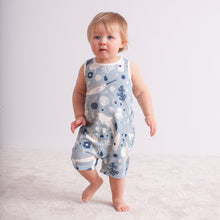 Load image into Gallery viewer, Winter Water Factory Organic Tank Top Romper - Surfers