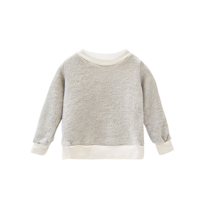 Go Gently Nation - Organic Reversed Textured Crewneck