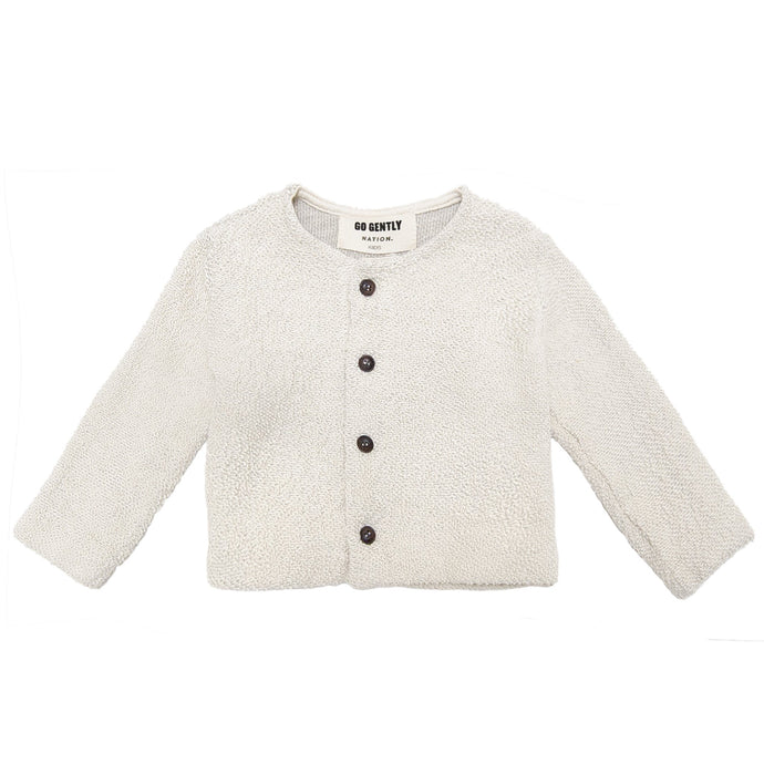 Go Gently Nation - Organic Textured Knit Coat Infant