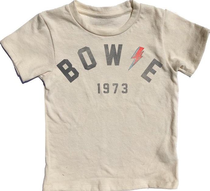Rowdy Sprout - Bowie Simple Tee - Cream Soda
