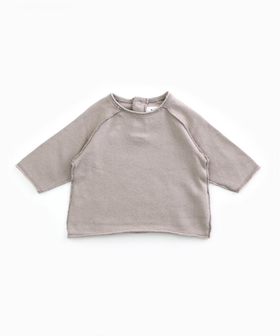 Play Up - Organic Fleece Top W/ Embroidery - Jeronimo
