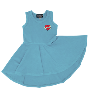 Wee Monster - Love Song Raceback Hi-Lo Circle Dress