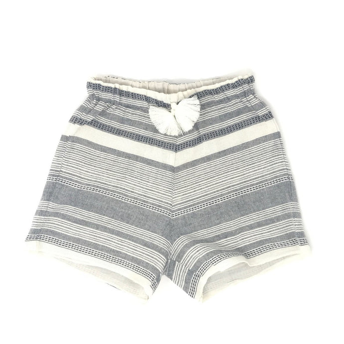 Opililai - Blue Striped Gauze Shorts