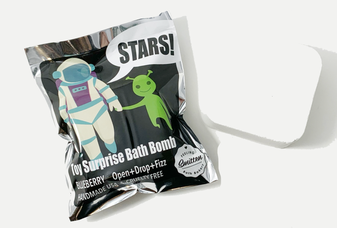 Feeling Smitten - Astronaut Surprise Bag Bath Bomb