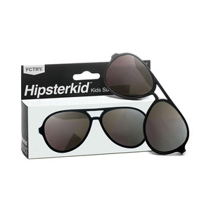 Hipsterkid FCTRY - Aviator Black Polarized Sunglasses - 3Y - 6Y