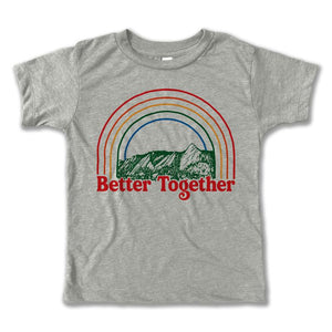 Rivet Apparel Co. - Better Together Tee - Heather Stone
