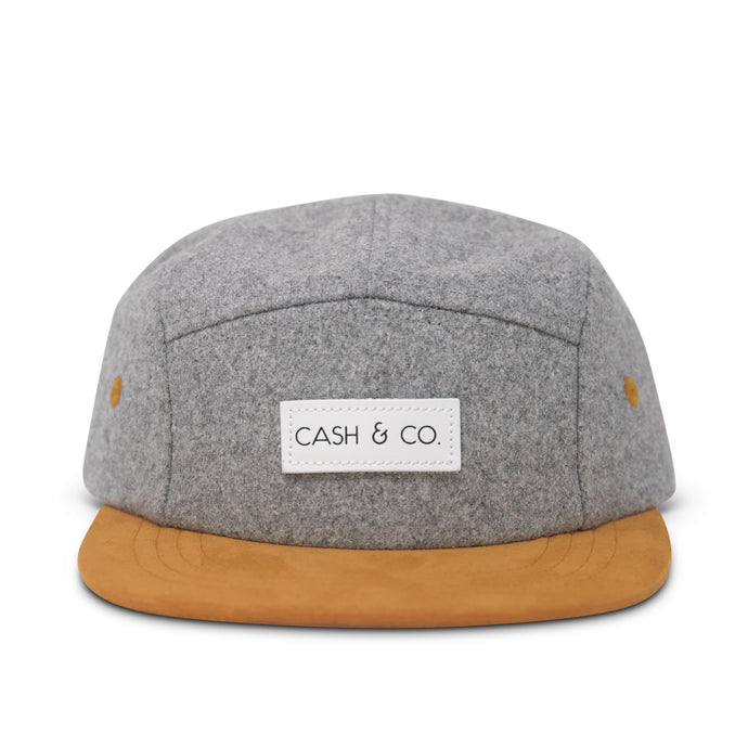Cash & Co. - Camden - Grey Wool Hat