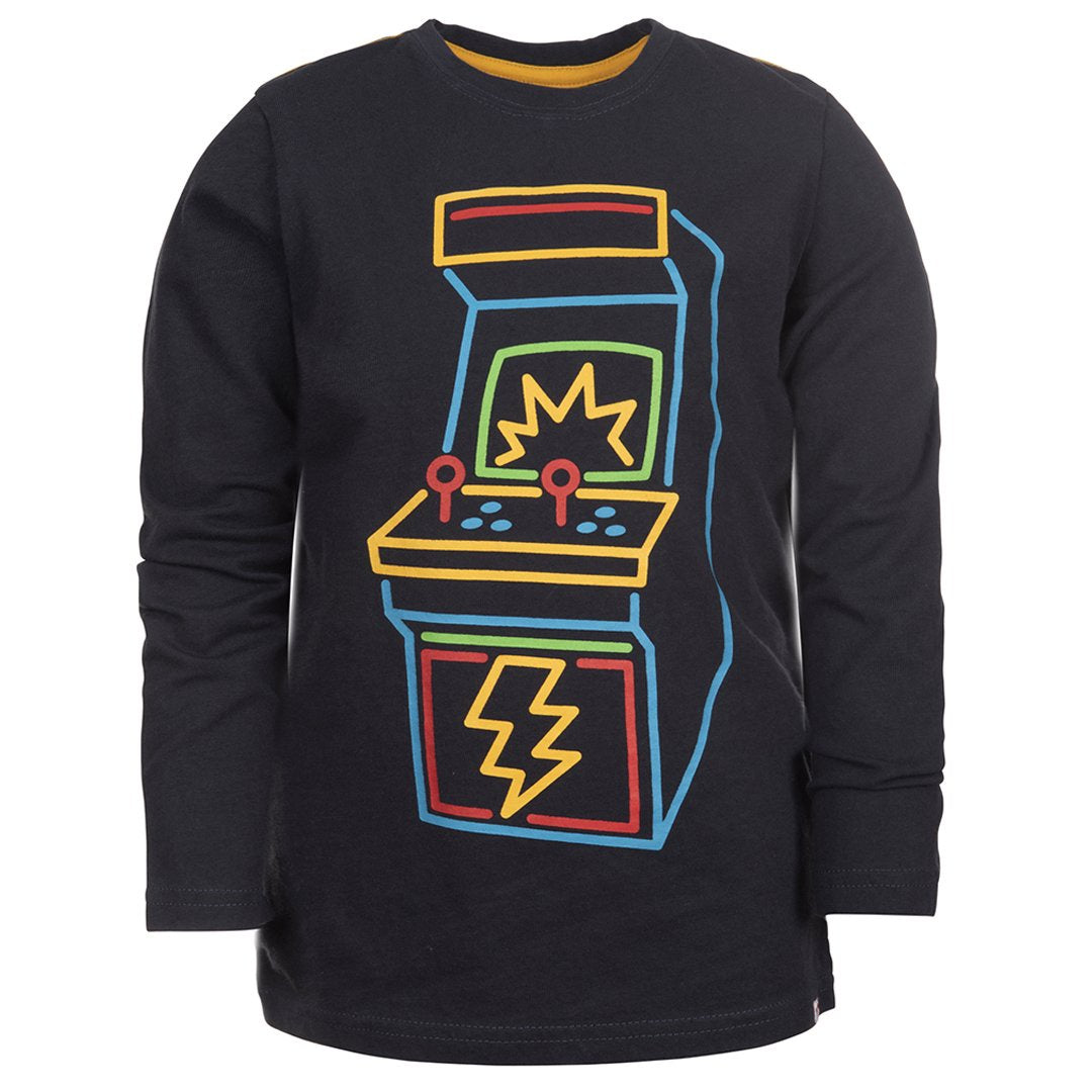 Appaman - Graphic Long Sleeve Tee - Game Time