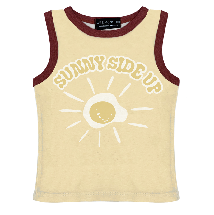 Wee Monster - Sunny Side Up Muscle Tank