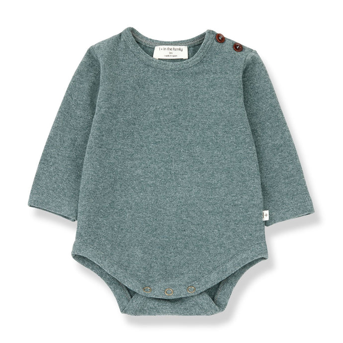 1 + in the family - Aston Bodysuit - Pine