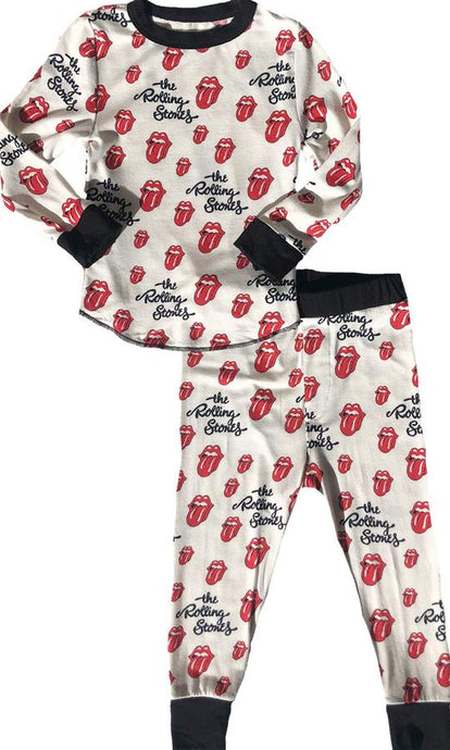 Rowdy Sprout - Rolling Stones Bamboo Base Layer Set - Black Trim