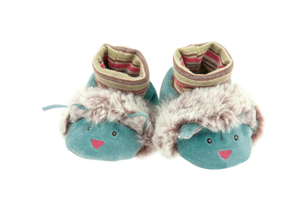 Moulin Roty Baby Slippers Chacha Pachats