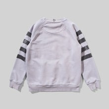 Load image into Gallery viewer, MunsterKids Banded Pigment Grey Crew Jumper Sweatshirt