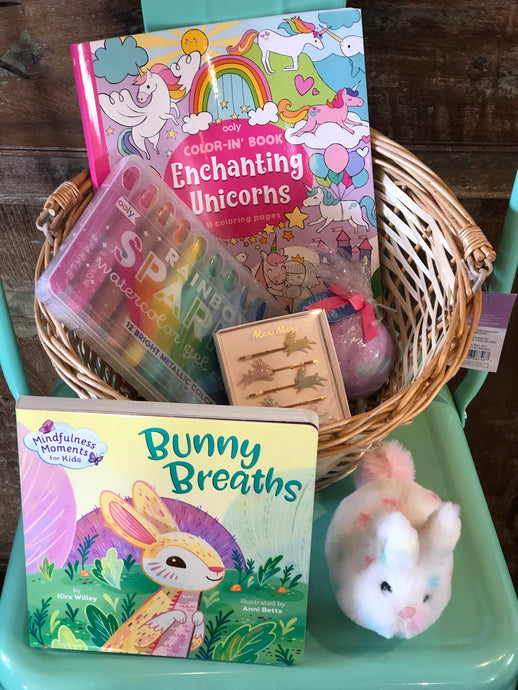 Easter Basket Bundle For Girl 2-5 Years Option 6