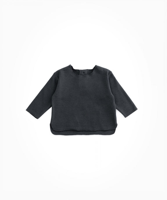 Play Up - Organic Cotton Jersey Stitch Long Sleeve - Rasp