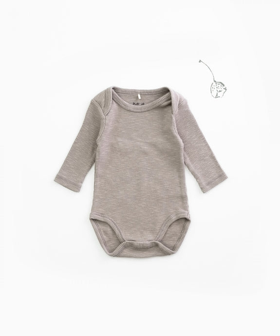 Play Up - Organic Cotton Ribbed Bodysuit - Jeronimo