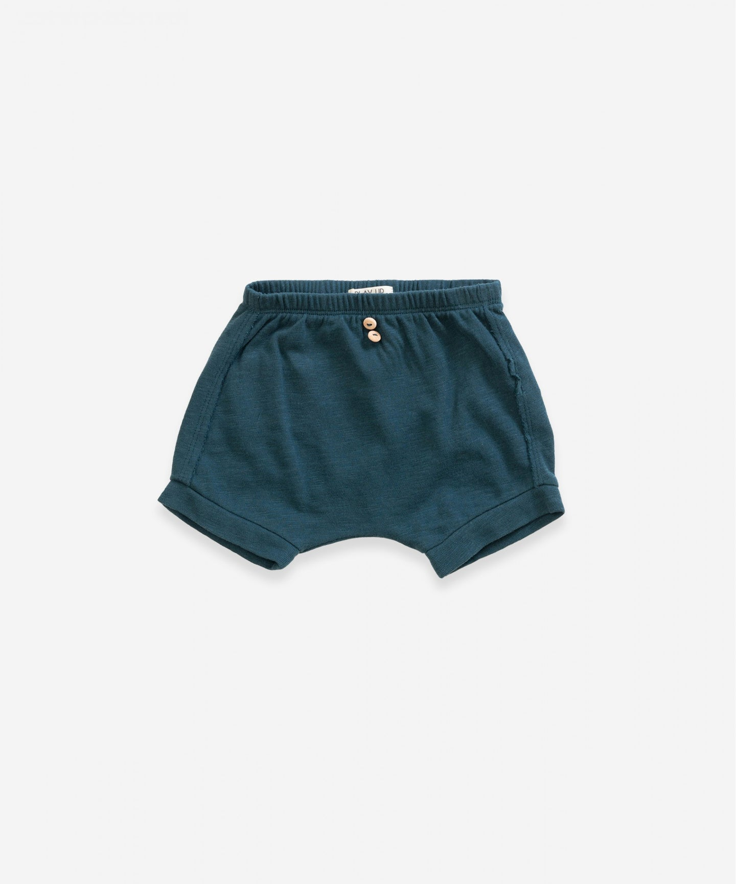 Organic Cotton Shorts With Pocket - Deep