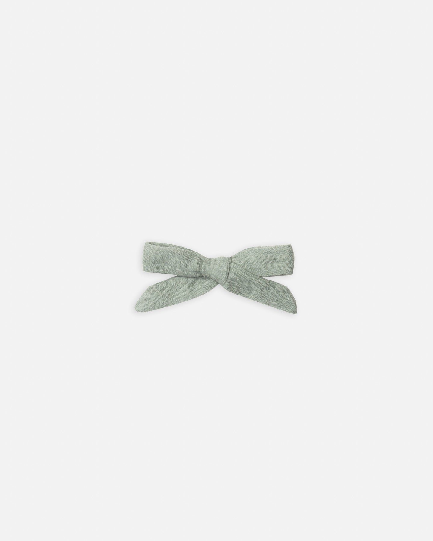 Rylee + Cru Bow With Clip - Seafoam