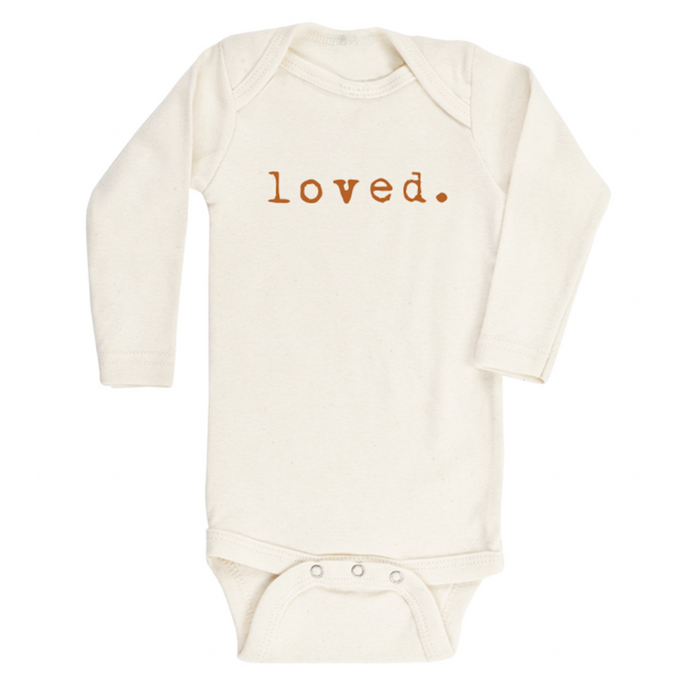 Tenth & Pine - Loved - Long Sleeve Bodysuit - Rust