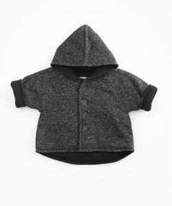 PLay Up - Recycled Fabric Hooded Jacket - Rasp