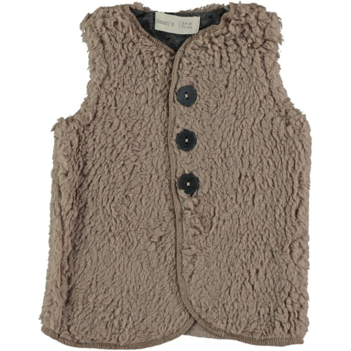 Bean's Barcelona - Polar Vest - Tan