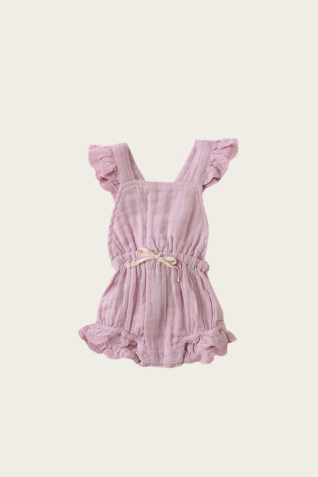 Jamie Kay - Organic Cotton Muslin Indie Playsuit - Butterfly