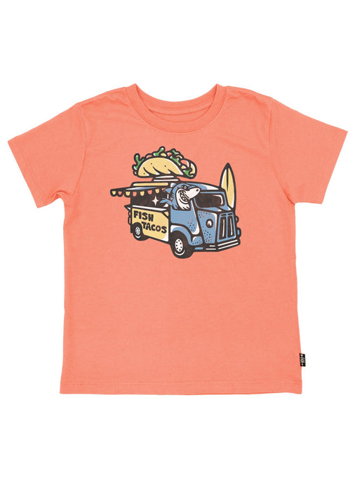 Feather 4 Arrow - Fish Tacos Vintage Tee - Coral Crush
