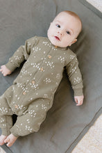 Load image into Gallery viewer, Quincy Mae - Organic Fleece Jumpsuit - Olive