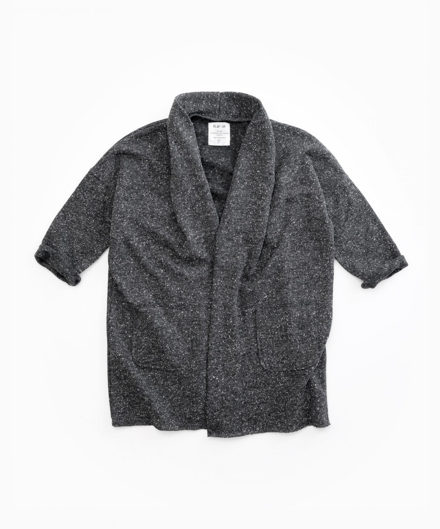 Play Up - Recycled Sweater Jacket W/ Pockets - Rasp