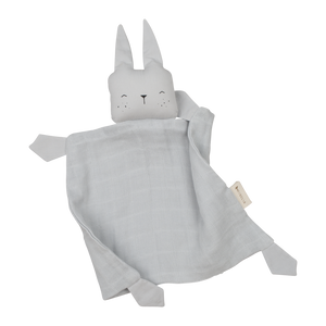 Fabelab Organic Animal Cuddle Bunny - Ice Grey