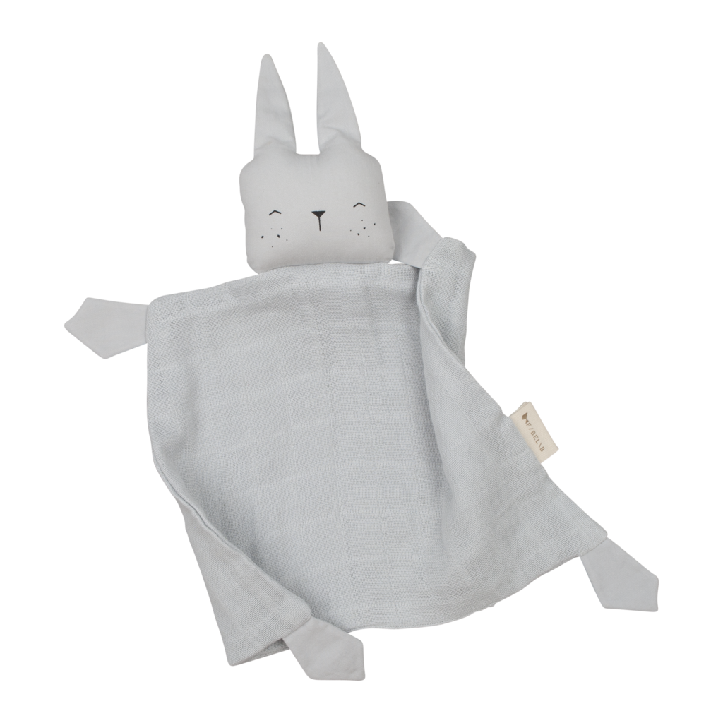 Fabelab - Organic Animal Cuddle Bunny - Ice Grey